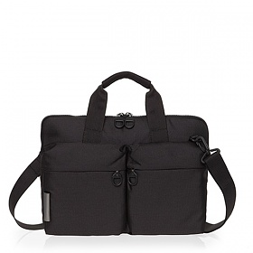 [만다리나덕]MANDARINADUCK - MD LIFESTYLE slim workbag 2 handles QKC0116Z (Black Ink) 서류가방