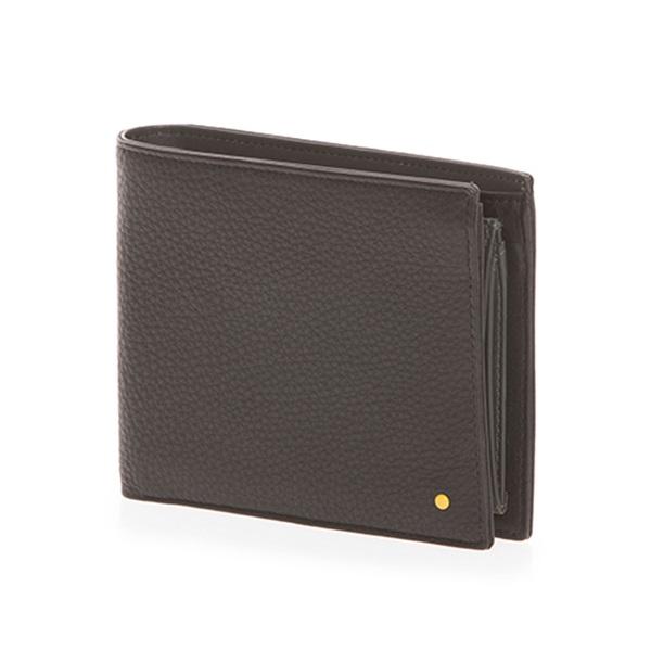[만다리나덕]MANDARINADUCK - DOT bifold cc/coin wallet SHP01651 (Black) 지갑