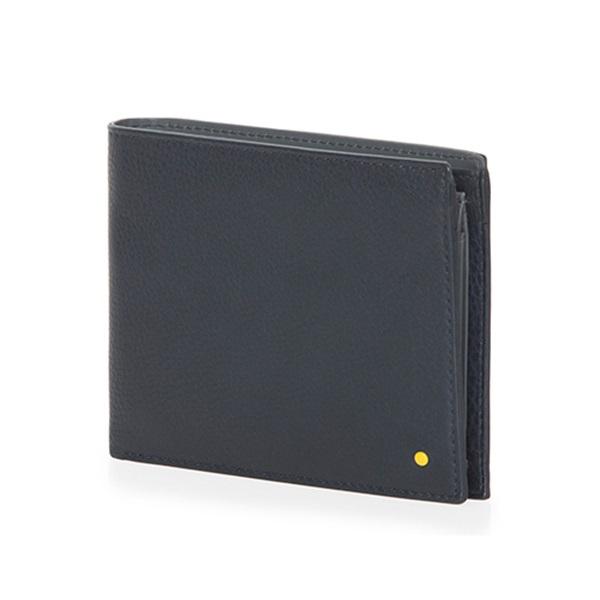 [만다리나덕]MANDARINADUCK - DOT bifold cc/coin wallet SHP0121N (Total Eclipse) 지갑