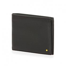 [만다리나덕]MANDARINADUCK - DOT bifold wallet cc/cc SHP03651 (Black) 지갑
