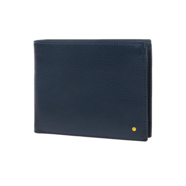 [만다리나덕]MANDARINADUCK - DOT bifold wallet cc/cc SHP0321N (Total Eclipse)