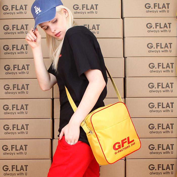 #클리어런스 [지플랫] 에어라인 GFL 83 크로스백 M (YELLOW)