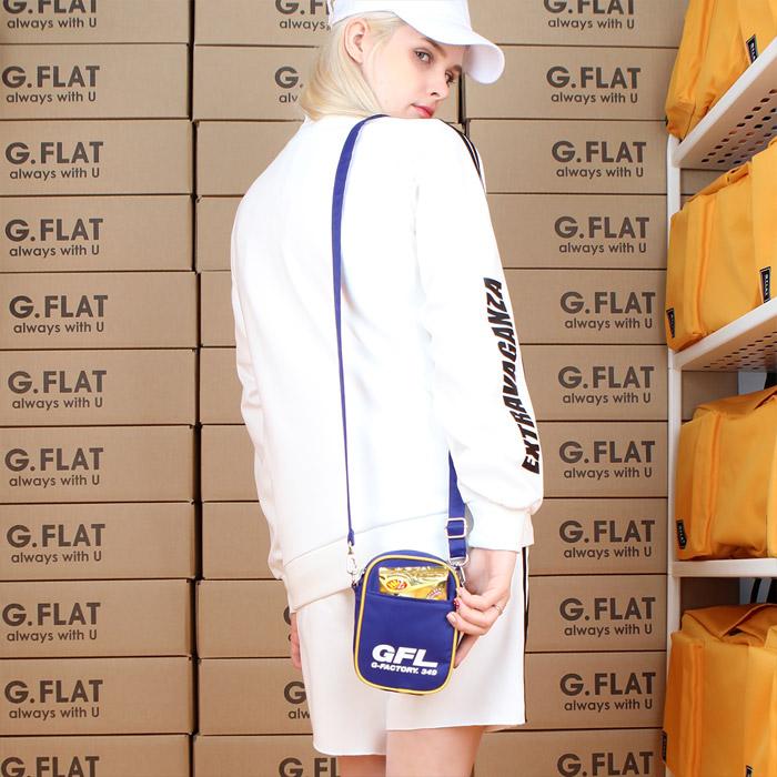 #클리어런스 [지플랫] 에어라인 GFL 83 크로스백 mini (BLUE)