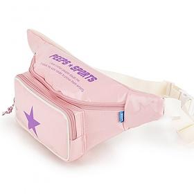 [핍스] PEEPS pop pop waist bag(pink)_웨이스트백_메신저백_힙색