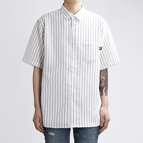 [쟈니웨스트] JHONNYWEST - Boy Friend Summer Shirts (Blue) 반팔 셔츠