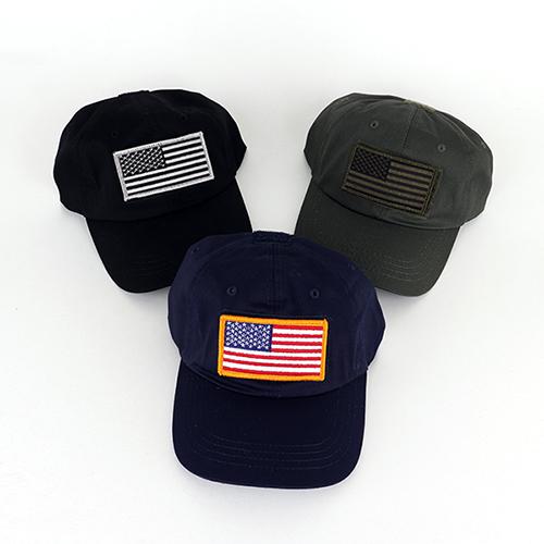 [로스코/국내배송] OPERATOR TACTICAL CAP (3컬러) 오퍼레이터 패치캡 성조기 볼캡
