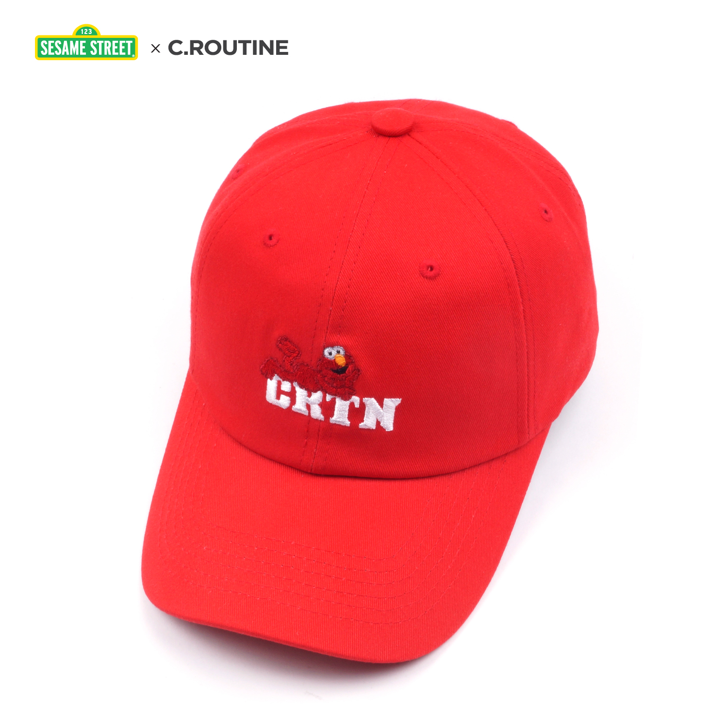 [씨루틴]CROUTINE - CRTN elmo ball cap [red] CRTN 엘모 볼캡 모자