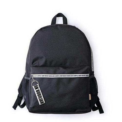 [버빌리안] 지퍼 포인트 백팩 _ BLACK&WHITE