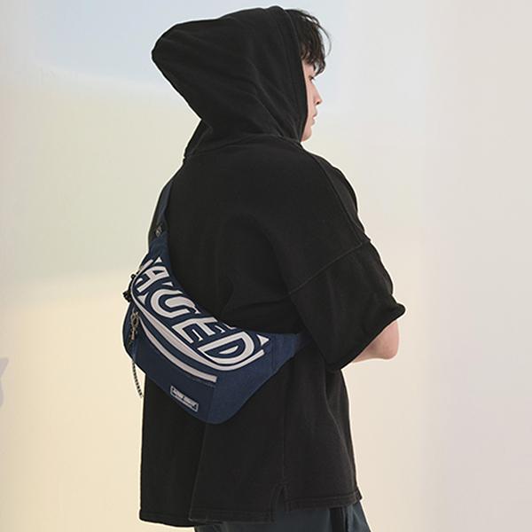 [에이지그레이] AG22FNY 포지션 힙색(네이비) 웨이스트백 패니팩