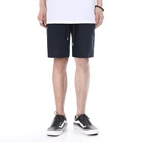 [쟈니웨스트] JHONNYWEST - Ramie Half Pants (Navy) 반바지 하프팬츠