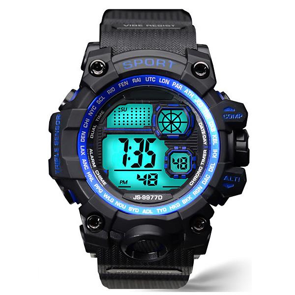 포레스트레이크 [LAKE] ELECTRON WHTCH LAKE-JSM058044 BLUE 디지털 시계