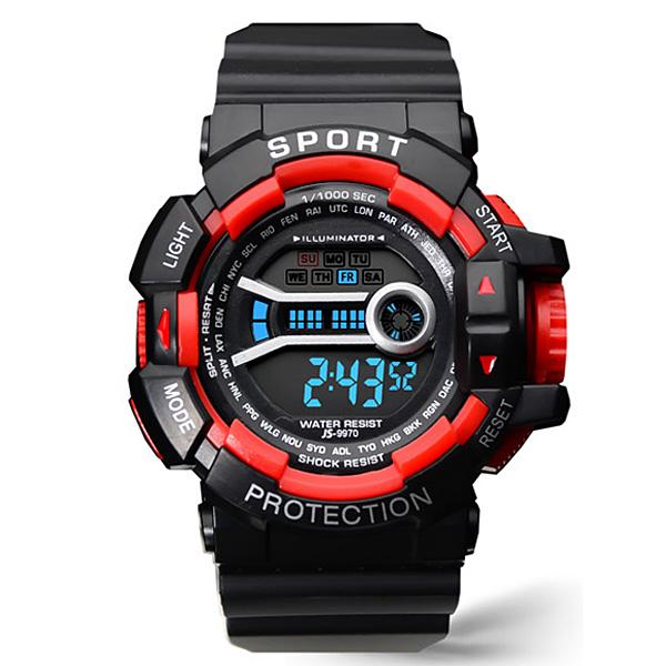 포레스트레이크 [LAKE] ELECTRON WHTCH LAKE-JSM058043 RED 디지털 시계