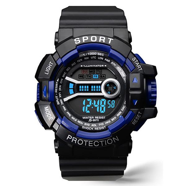 포레스트레이크 [LAKE] ELECTRON WHTCH LAKE-JSM58043 BLUE 디지털 시계
