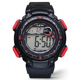 포레스트레이크 [LAKE] ELECTRON WHTCH LAKE-JSM058042 RED 디지털 시계