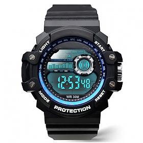 포레스트레이크 [LAKE] ELECTRON WHTCH LAKE-JSM058041 BLACK 디지털 시계