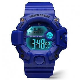 포레스트레이크 [LAKE] ELECTRON WHTCH LAKE-JSM058040 NAVY 디지털 시계
