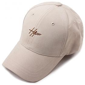 [헤이터] 골드 링 스웨이드 볼캡 베이지 HATER D-Ring Cap Beige