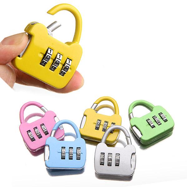 [트래블이지]자물쇠 가방형  (색상랜덤발송)  NO.0025