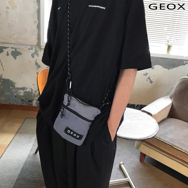 [제옥스]GEOX - LOCK MINBAG GRAY 락 미니백 사코슈 그레이