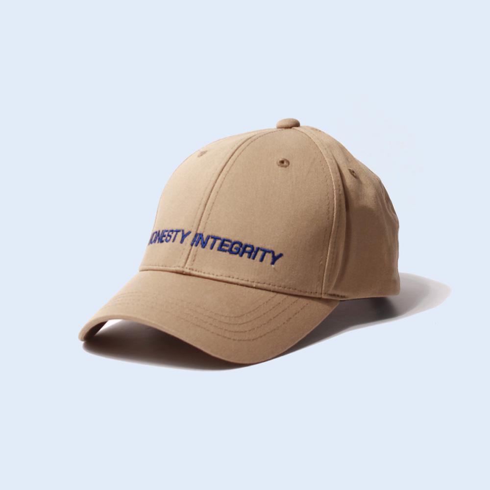 [티엔피]TNP HONESTY INTEGRITY BALL CAP - BEIGE 볼캡 야구모자