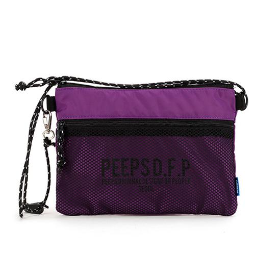 [핍스] PEEPS bright 사코슈 백 (violet)