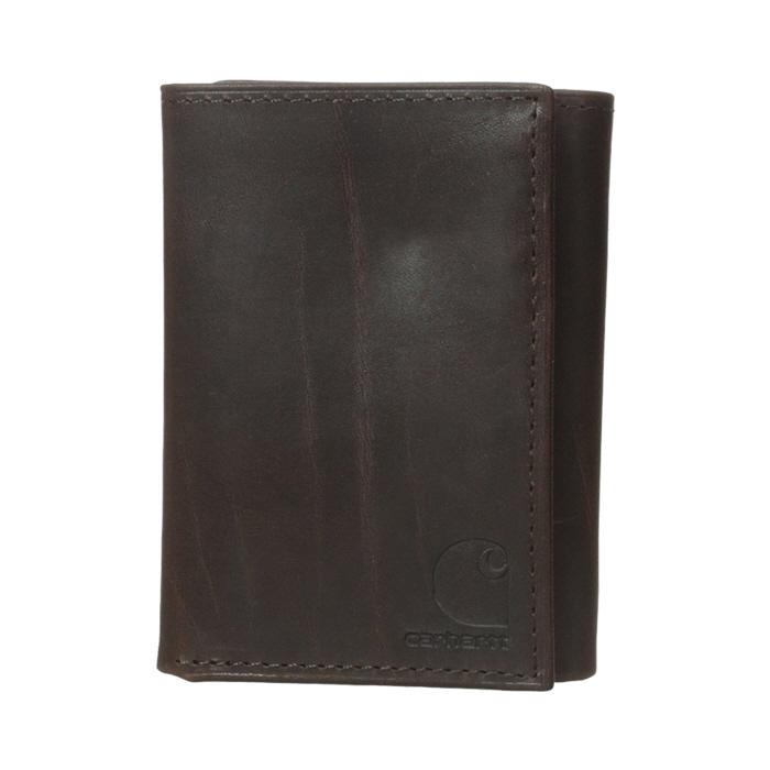 [칼하트 지갑] 오일 탄 트리폴드 지갑 브라운 / 61-2235-20