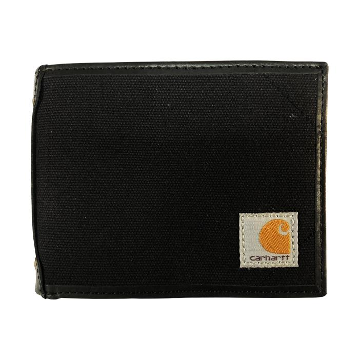 [칼하트 지갑] 캔버스 패스케이스 지갑 블랙 / 61-2216-30