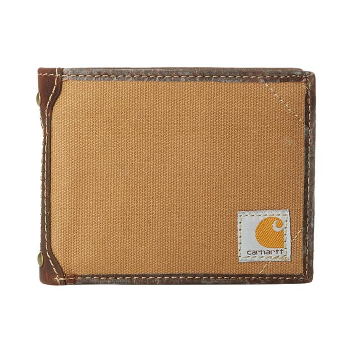 [칼하트 지갑] 캔버스 패스케이스 지갑 브라운 / 61-2216-20