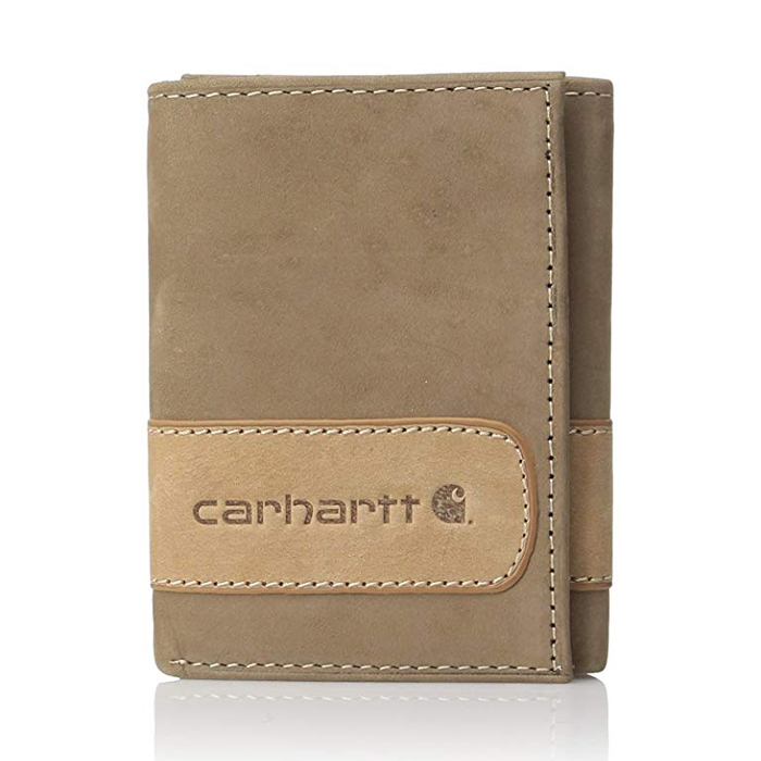 [칼하트 지갑] 투톤 트리폴드 지갑 브라운 / 61-2205-20