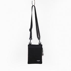 [오이스터 컬쳐 클럽] 캔버스 미니 사코슈 크로스백 블랙 S 1-zip [CHUCK II]