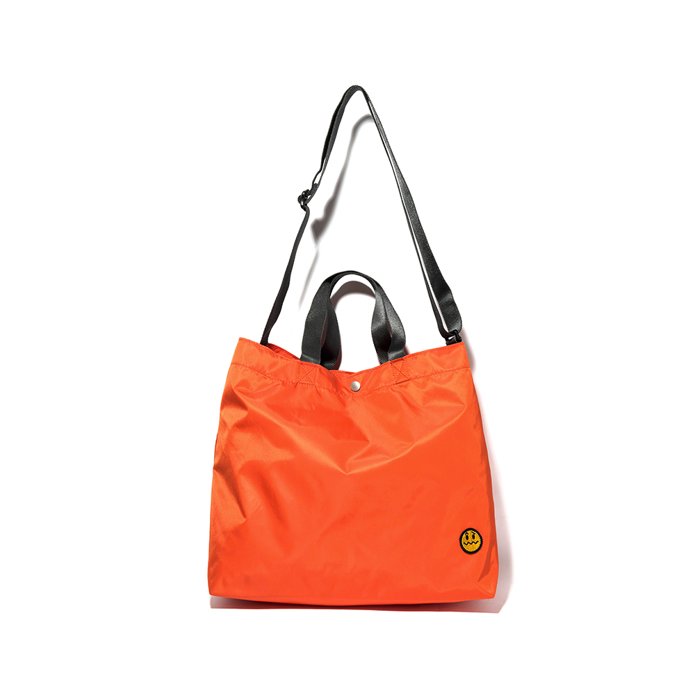 [디얼스]THE EARTH - [TE X MNW] 2WAY BAG - ORANGE 크로스백 토트백