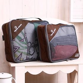 트래블하우스 여행용파우치 웨어팩 양면 2종세트