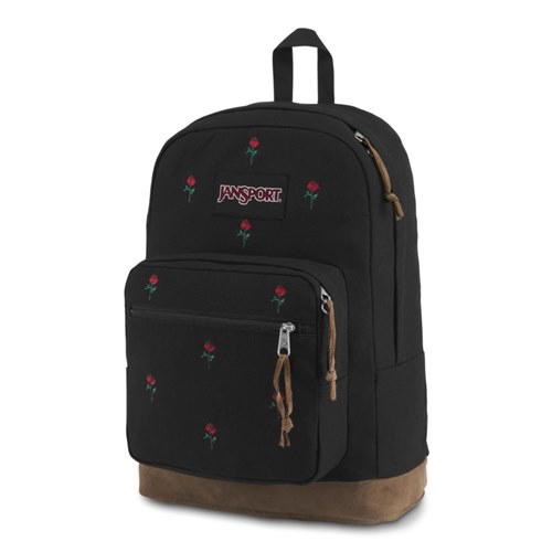 정품뱃지증정 [잔스포츠]JANSPORT - 라이트팩 익스프레션 (TZR64C9 - Embroidered Roses) 잔스포츠코리아 정품 AS가능
