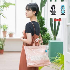 [에이지그레이]AG26FPK PVC 쇼퍼백(핑크)