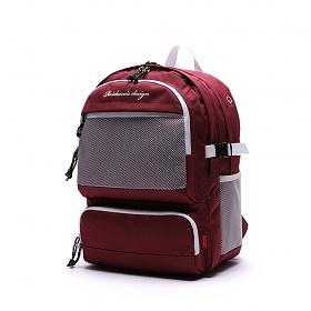 [로아드로아]ROIDESROIS - OMG BACKPACK (BURGUNDY) 가방 백팩 망사백팩 메쉬백팩
