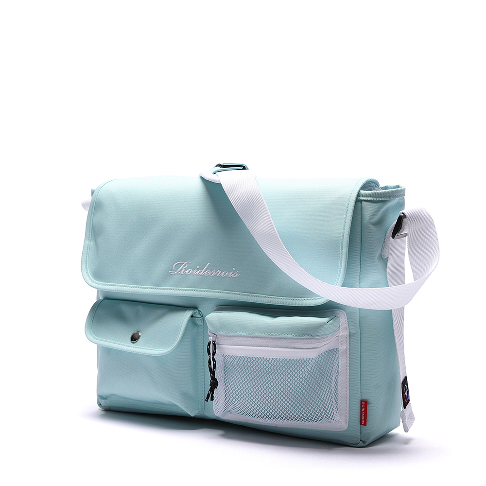 [로아드로아]ROIDESROIS - HUSH MESSENGER BAG (SKYBLUE) 가방 메신저백 메신져백 크로스백