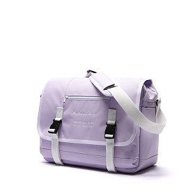 [8월14일 예약판매] [로아드로아] CLAP CLAP MESSENGER BAG (LAVENDER) 메신저백 신학기가방 메신져백 크로스백