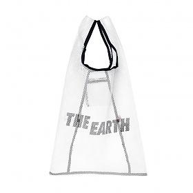 [디얼스]THE EARTH - MESH VACANCE BAG - ECRU 메쉬백 메쉬가방 망사가방 그물가방 에코백