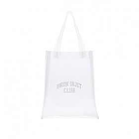[유니온오브제]UNIONOBJET CLUB PVC ECO BAG - CLEAR 클리어백 투명백 비치백