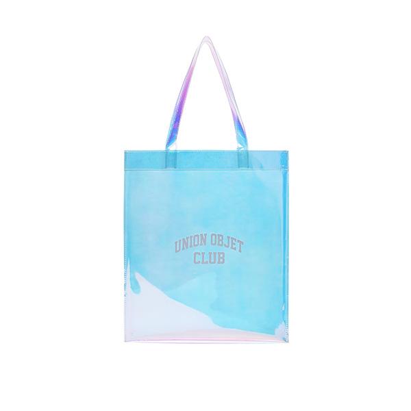 [유니온오브제]UNIONOBJET CLUB PVC ECO BAG - HOLOGRAM 클리어백 투명백 비치백