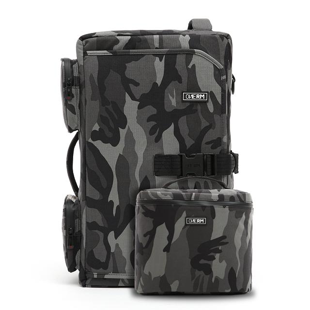 [원알엠]ONERM RM17BP2-PANTHER CAMO BLACK F1T EDITION 헬스백팩 운동가방