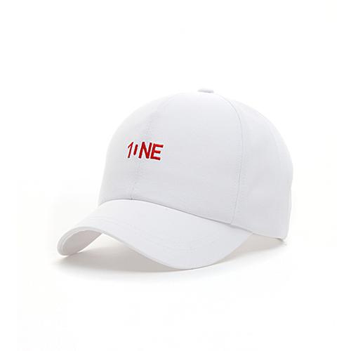 [원알엠]ONERM RM17BC-ONE WHITE 볼캡 야구모자