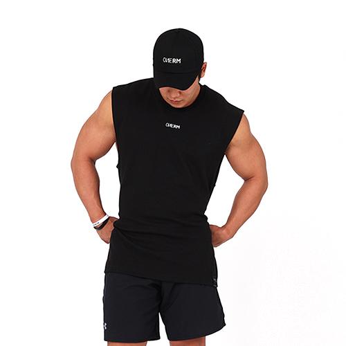 [원알엠]ONERM TANK BASIC - BLACK 민소매 나시 헬스 피트니스 스포츠
