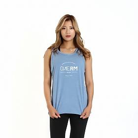 [원알엠]ONERM SLEEVELESS LAUREL - CELESTE BLUE WMS 여성 민소매 나시 헬스 피트니스 스포츠