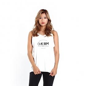 [원알엠]ONERM SLEEVELESS LAUREL - WHITE WMS 여성 민소매 나시 헬스 피트니스 스포츠