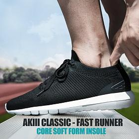 [아키클래식]AKIII CLASSIC -  패스트 러너 블랙 운동화