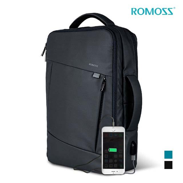 로모스 - E Pack 멀티 기능성 노트북 USB 백팩