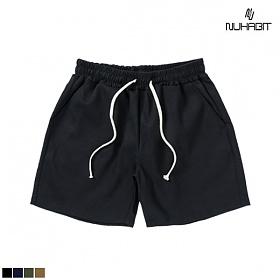[뉴해빗] Cotton Basic Short Pants - 치노반바지 네이비