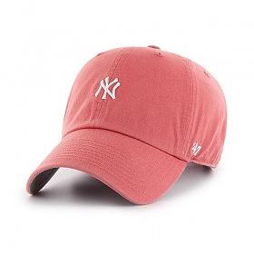 47브랜드 - MLB모자 뉴욕 양키즈 아일랜드레드 미니로고