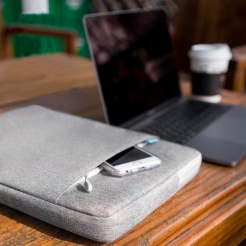 [탐탁]tomtoc A13[13인치-13.3인치/그레이]맥북 노트북 파우치 슬리브 클러치 탐탁코리아 정품